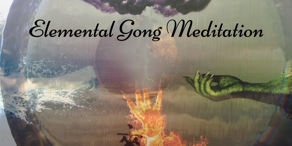 Elemental gong meditation Facebook event